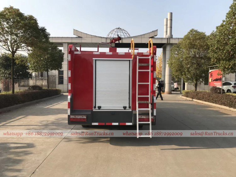 dongfeng 4 cbm water fire fighting truck 06
