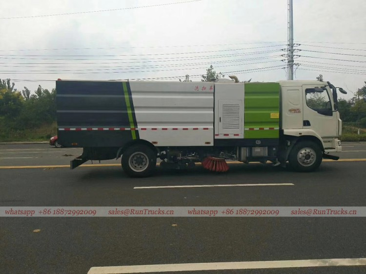 Dongfeng Chenglong road wash & sweeper truck 09.jpg