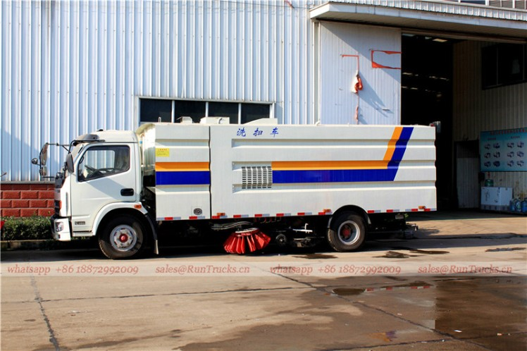 Dongfeng kaipute road cleaning sweeper truck 08