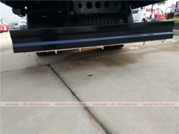 Dongfeng tianjin road sweeper truck with snow shovel and aerial working platform 14