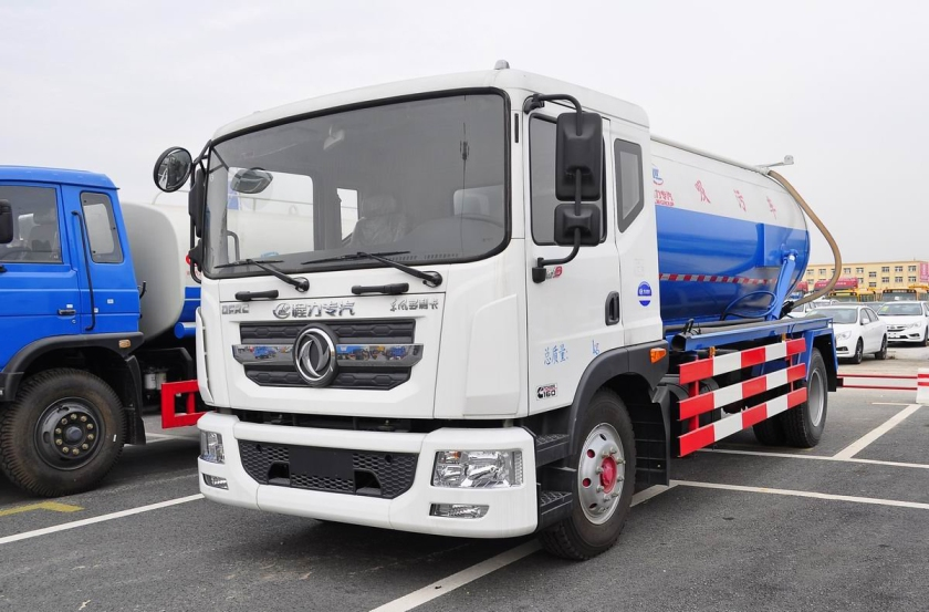 Dongfeng D series sewage suction truck (2)