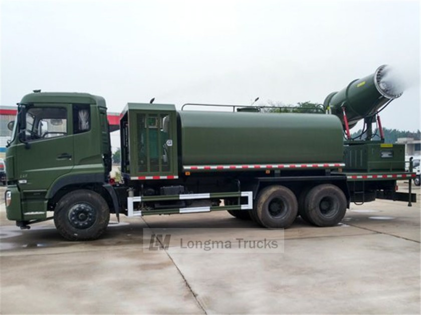 Longma brand dongfeng tianlong 16cbm dust suppression truck 02.jpg