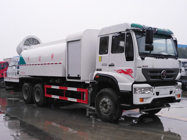 sinotruk 16cbm dust suppression truck (2)