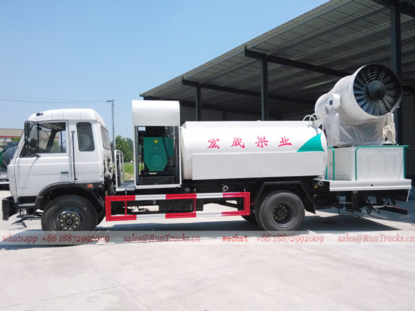 Dongfeng 153 dust suppression truck 03