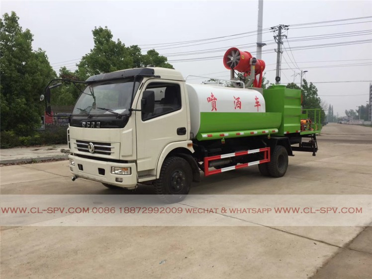 dongfeng multifunctional pesticide spraying truck 01
