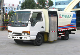 China brand models guardrail fence cleaning vehicle introduction (1)