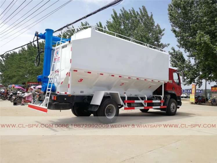 Dongfeng 28000 liters bulk feed transportation truck 01