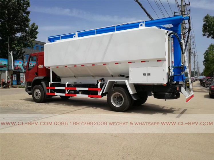 Dongfeng 28000 liters bulk feed transportation truck 08