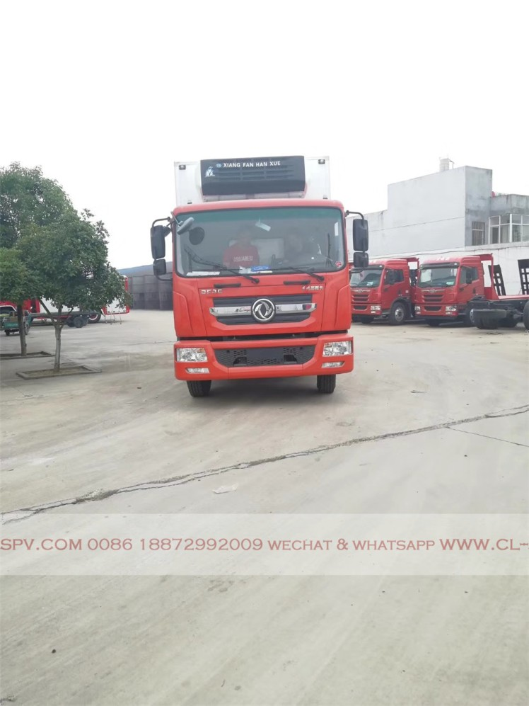 Dongfeng D series refrigerator truck 01