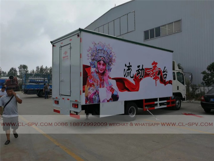 Kaima mobile stage vehicle 01
