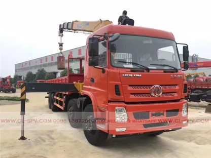 China different trucks with brand cranes07