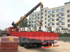 China different trucks with brand cranes10