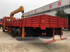 China different trucks with brand cranes13