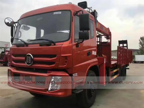 China different trucks with brand cranes14