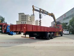 China different trucks with brand cranes22