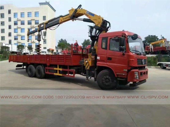 China different trucks with brand cranes24
