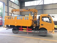 China different trucks with brand cranes30