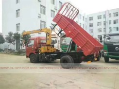 China different trucks with brand cranes33