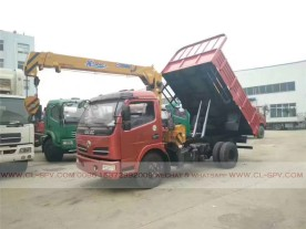 China different trucks with brand cranes34