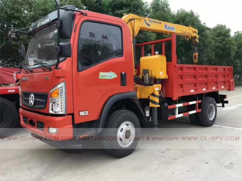China different trucks with brand cranes35