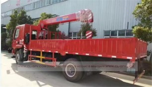 China different trucks with brand cranes46