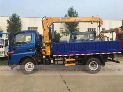 China different trucks with brand cranes50