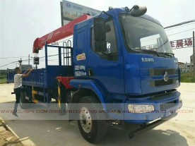 China different trucks with brand cranes54