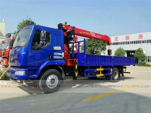 China different trucks with brand cranes56