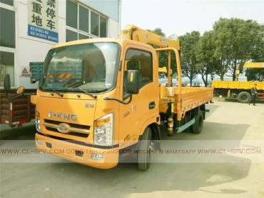 China different trucks with brand cranes61
