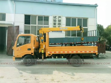 China different trucks with brand cranes62