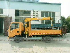 China different trucks with brand cranes64