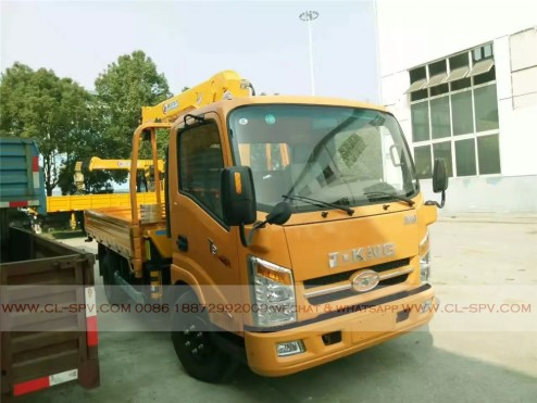 China different trucks with brand cranes65