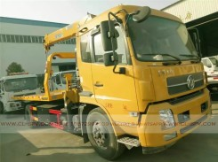 China different trucks with brand cranes68