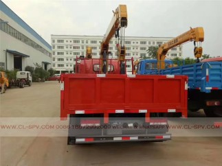 China different trucks with brand cranes72