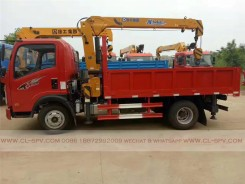 China different trucks with brand cranes74