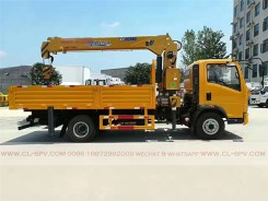 China different trucks with brand cranes77