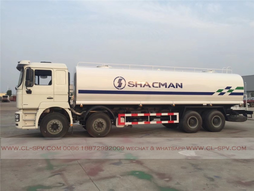China shacman 30000 liters water truck 04