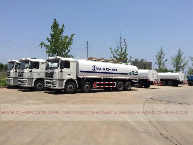 China shacman 30000 liters water truck 07