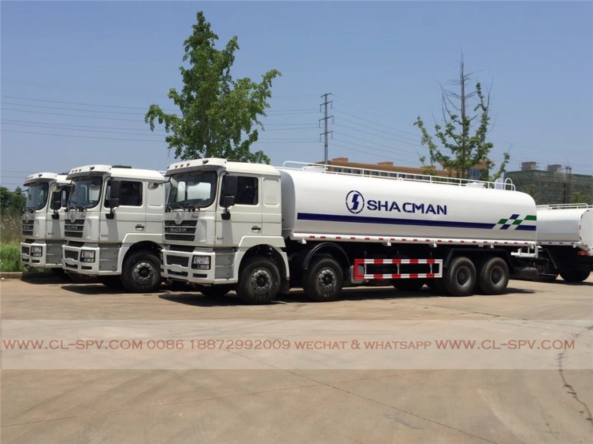 China shacman 30000 liters water truck 08
