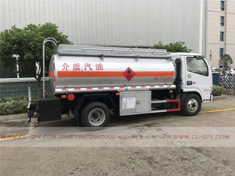 Dongfeng 5000 liters fuel tanker 02