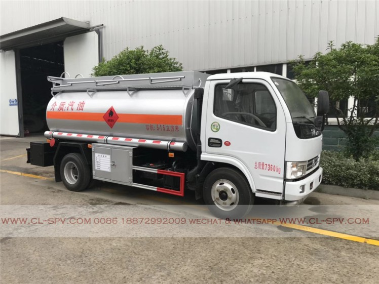 Dongfeng 5000 liters fuel tanker 03