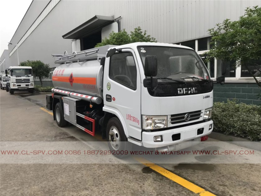 Dongfeng 5000 liters fuel tanker 04