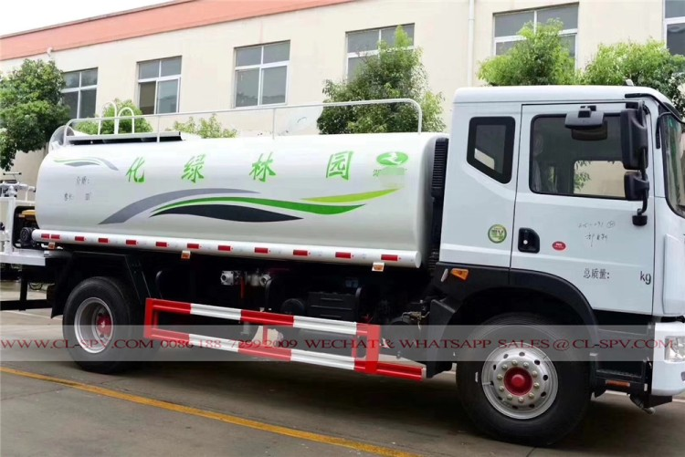 Dongfeng pesticide spraying truck with 30 meters fog cannon 01