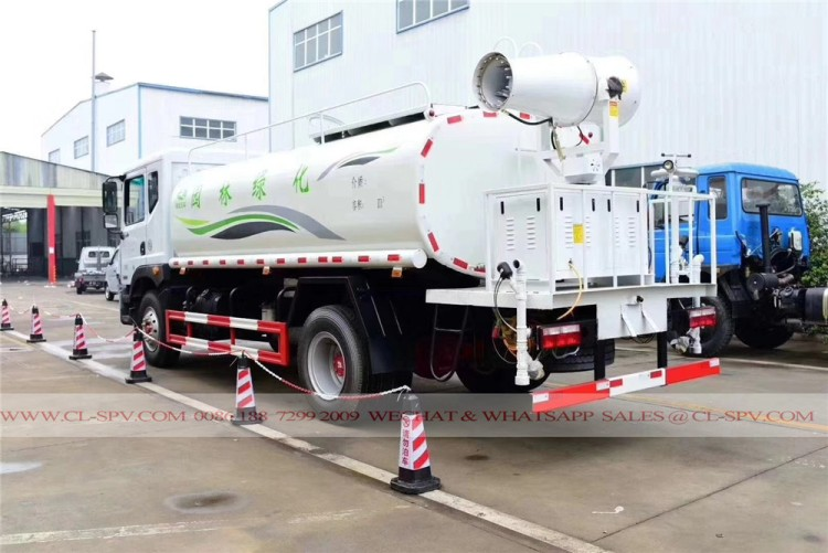 Dongfeng pesticide spraying truck with 30 meters fog cannon 03