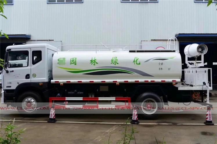 Dongfeng pesticide spraying truck with 30 meters fog cannon 06