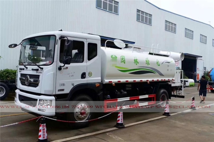 Dongfeng pesticide spraying truck with 30 meters fog cannon 07