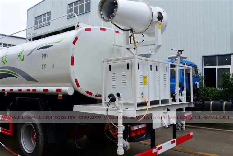 Dongfeng pesticide spraying truck with 30 meters fog cannon 08