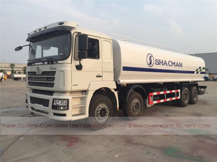 China shacman 30000 liters water truck 05