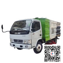 Dongfeng 10000 liters fecal suction tank truck 07