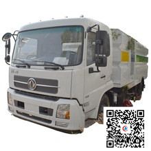 Dongfeng 10000 liters fecal suction tank truck 15